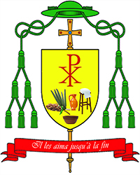 Coat of arms Bp Martin Tine fr s