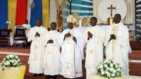 Professions of Perpetual Vows and Ordinations in Uganda