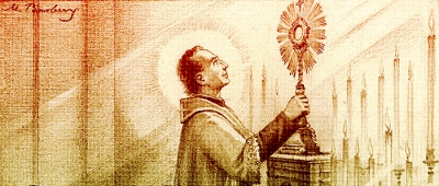 Feast of the Epiphany 1857: First Solemn Exposition of the Blessed Sacrament by Father Eymard