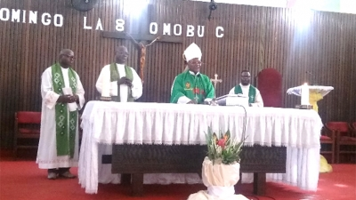 The archdiocese of Kinshasa pays tribute to Father Luigi Brugnetti sss
