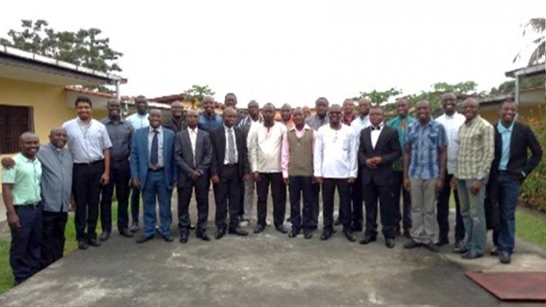 "Visit of the General Council to the ""Emmaus"" Scholasticate in Kinshasa"