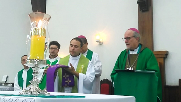 Father Jackson assumes Rectorship of the Eucharistic Shrine of Saint Peter-Julian Eymard in Sete Lagoas
