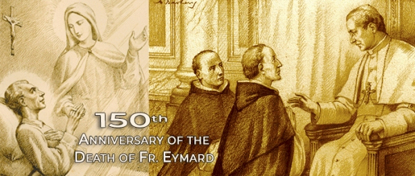 June 25, 1854 - Father Jandel presented Eymard's project in an audience with Pope Pius IX