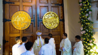 Santa Cruz Parish in Manila Celebrates 400th Anniversary