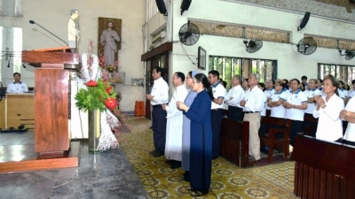 Eucharistic day Reunion of Charismatic Eymardian Family