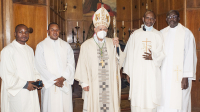Induction of the new Parish Priest  of Canadian Martyrs' Parish, Rome