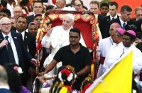 Eucharistic Fire on the Four Corners of the World